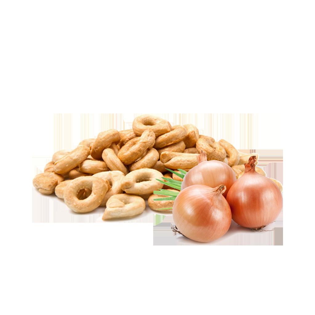 Taralli con cipolle