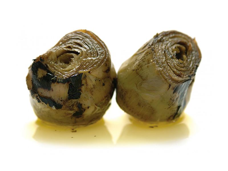 Carciofi arrostiti in olio
