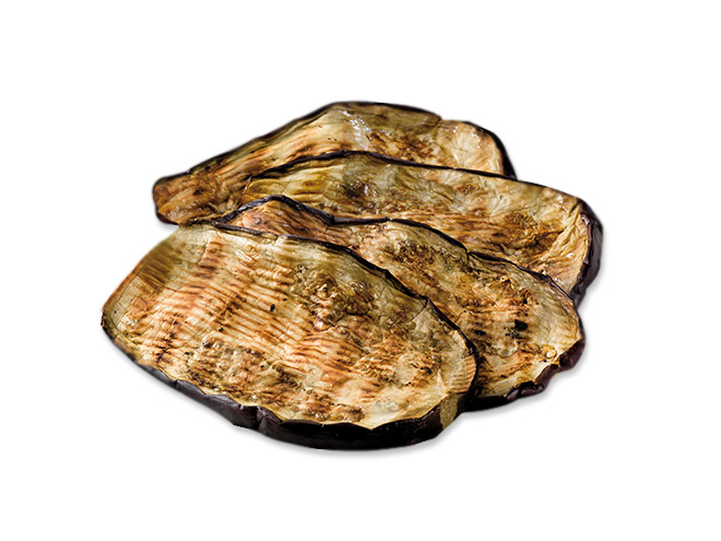 Melanzane grigliate in olio