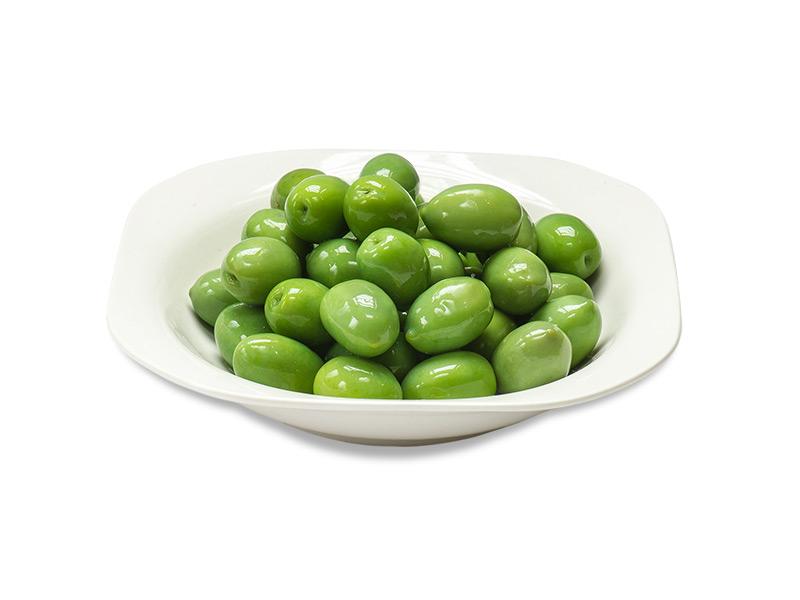 Olive verdi di Nocellara in salamoia