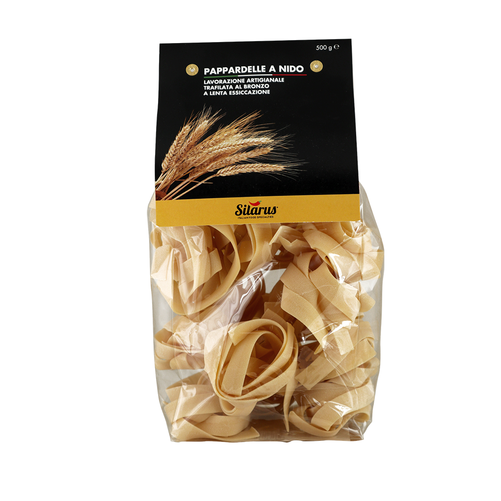 Pappardelle a Nido