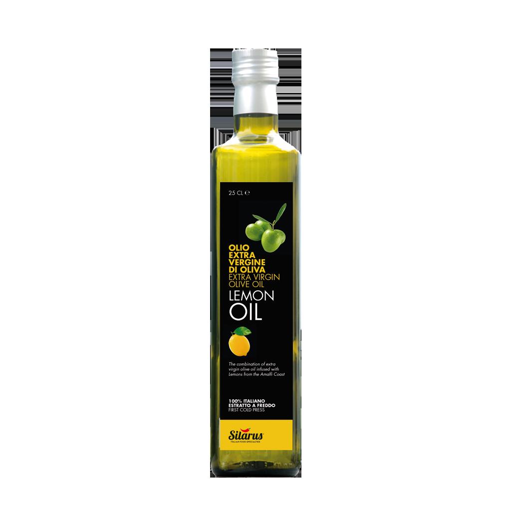 Olio Extra Vergine di Oliva con limoni della Costa d'Amalfi